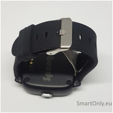 Išmanusis GPS laikrodis-telefonas vaikams Sponge See 2 (juoda) 5