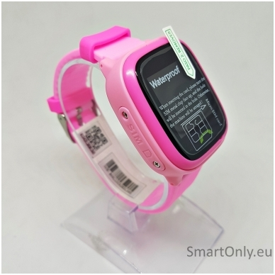 Išmanusis GPS laikrodis-telefonas vaikams Sponge See 2 (rožinė)