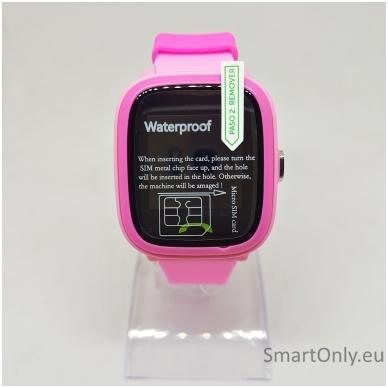 Išmanusis GPS laikrodis-telefonas vaikams Sponge See 2 (rožinė) 3