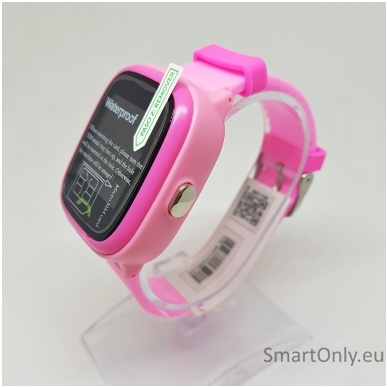 Išmanusis GPS laikrodis-telefonas vaikams Sponge See 2 (rožinė) 2