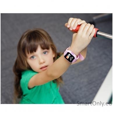 Išmanusis GPS laikrodis-telefonas vaikams Super-G Blast Camo Pink 3