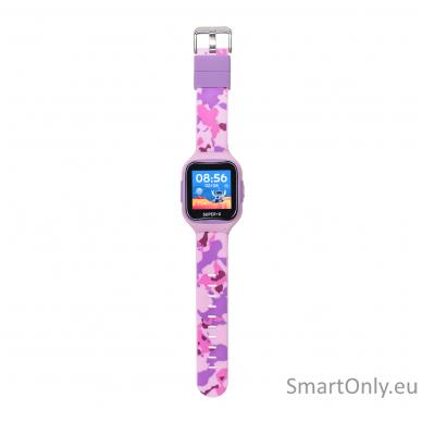 Išmanusis GPS laikrodis-telefonas vaikams Super-G Blast Camo Pink 2