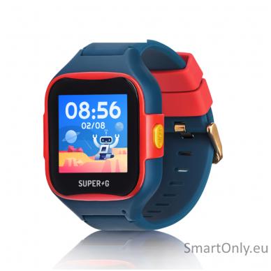 GPS Smartwatch for kids Super-G Blast Hero Blue