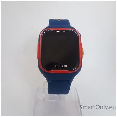 Išmanusis GPS laikrodis-telefonas vaikams Super-G Blast Hero Blue 3