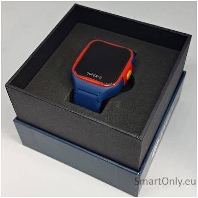 Išmanusis GPS laikrodis-telefonas vaikams Super-G Blast Hero Blue 7