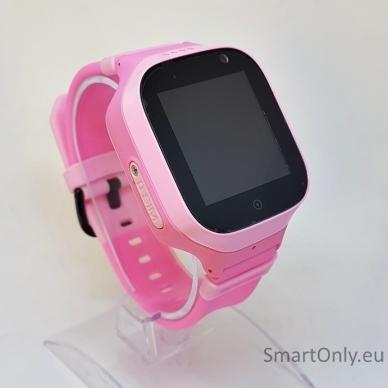Išmanusis GPS laikrodis-telefonas vaikams TD-11 (rožinė)