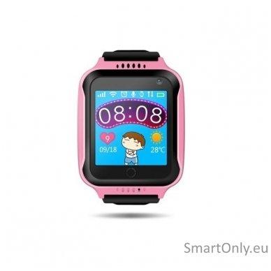 Išmanusis GPS laikrodis vaikams Sponge See (Rožinė) 2
