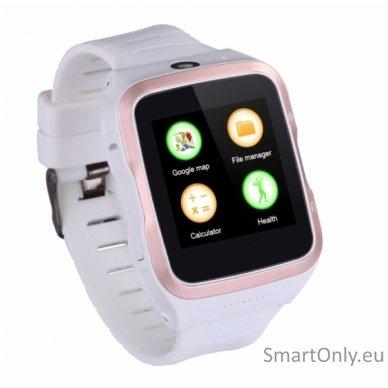 Išmanusis laikrodis-telefonas ZGPAX S83 (Balta/auksinė)