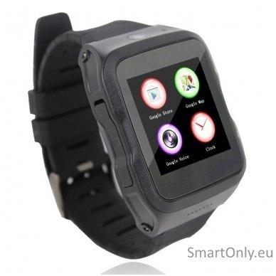 Išmanusis laikrodis-telefonas ZGPAX S83 (Juoda) 2