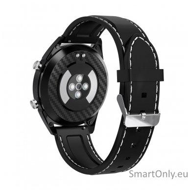 Išmanusis laikrodis DT NO.1 DT28 (Juodas  su silikonine apyranke) 4