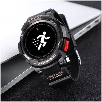 Išmanusis laikrodis DT NO.1 F6 (Juoda) 6