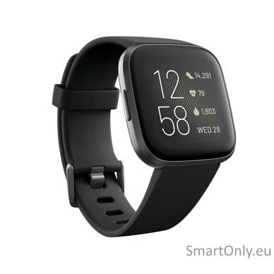 Išmanusis laikrodis Fitbit Versa 2 NFC Black