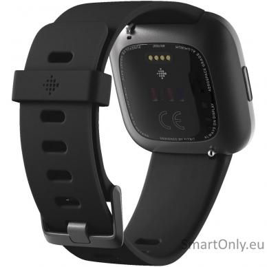 Išmanusis laikrodis Fitbit Versa 2 NFC Black 3