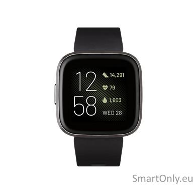 Išmanusis laikrodis Fitbit Versa 2 NFC Black 2