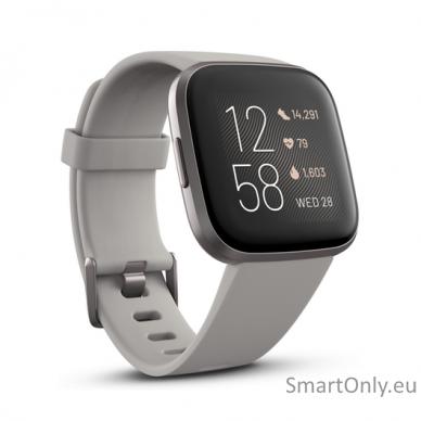 Išmanusis laikrodis Fitbit Versa 2 NFC Stone