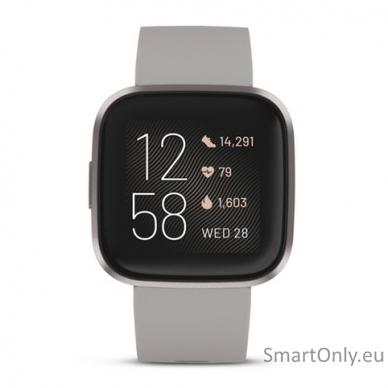 Išmanusis laikrodis Fitbit Versa 2 NFC Stone 2