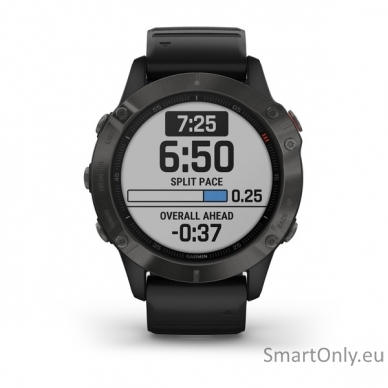Išmanusis laikrodis Garmin Fenix 6 Saphire Black 2