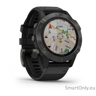 Išmanusis laikrodis Garmin Fenix 6 Saphire Black 3