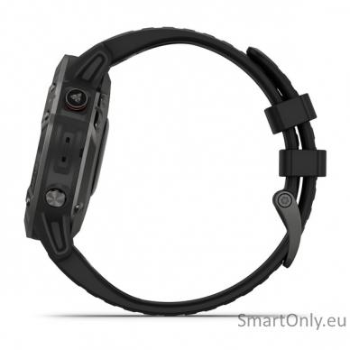 Išmanusis laikrodis Garmin Fenix 6 Saphire Black 5