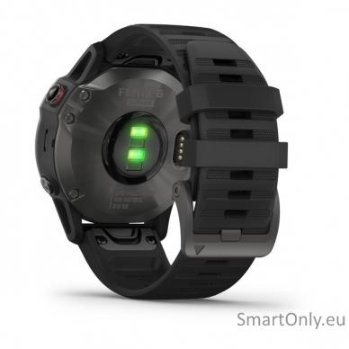 Išmanusis laikrodis Garmin Fenix 6 Saphire Black 6