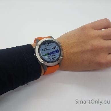 Išmanusis laikrodis Garmin Fenix 6 Saphire Orange 7