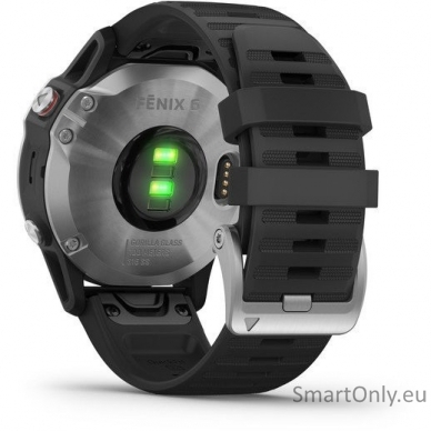 Išmanusis laikrodis Garmin Fenix 6 Silver 5