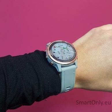 Išmanusis laikrodis Garmin Fenix 6S Saphire Rose Gold 8