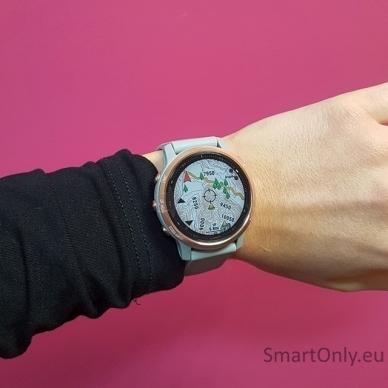 Išmanusis laikrodis Garmin Fenix 6S Saphire Rose Gold 7