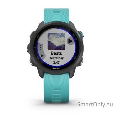 Išmanusis laikrodis Garmin Forerunner 245 Music Aqua 2