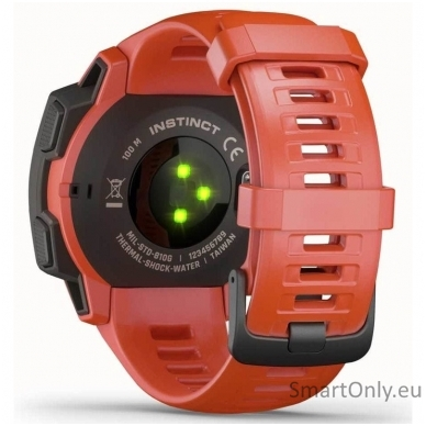 Išmanusis laikrodis Garmin Instinct Flame Red 6