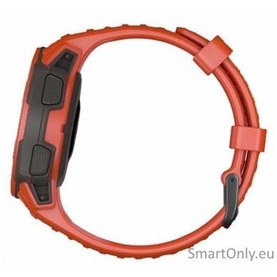 Išmanusis laikrodis Garmin Instinct Flame Red 5
