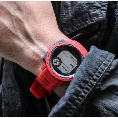 Išmanusis laikrodis Garmin Instinct Flame Red 7