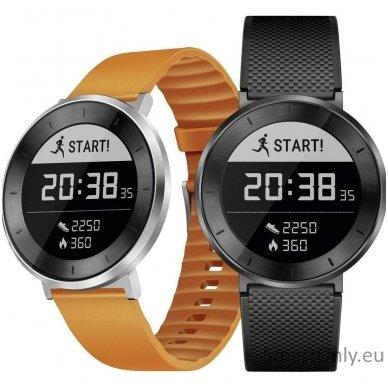 Išmanusis sportinis laikrodis HUAWEI FIT (Oranžinė/sidabrinė) 9