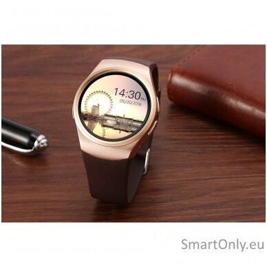 Išmanusis laikrodis KingWear KW18 (auksinė) 3