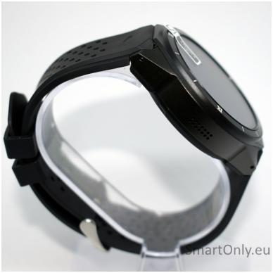 Kingwear KW88 PRO 3G GPS Smartwatch (black) 4