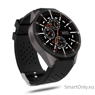 Kingwear KW88 PRO 3G GPS Smartwatch (black)