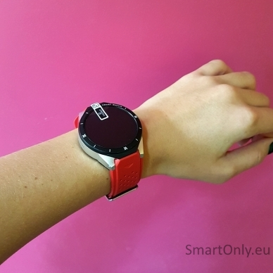 Išmanusis laikrodis KingWear KW88 PRO (raudona) 6