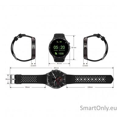 Kingwear KW88 PRO 3G GPS Smartwatch 3