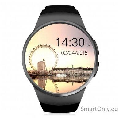 Išmanusis laikrodis KingWear KW18 (juoda)