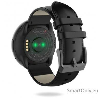 Išmanusis laikrodis MyKronoz Smartwatch ZeRound 2 HR Premium (juoda) 4