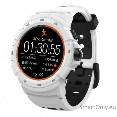 Išmanusis sportinis GPS laikrodis Mykronoz ZeSport 2 (Baltas/Juodas)