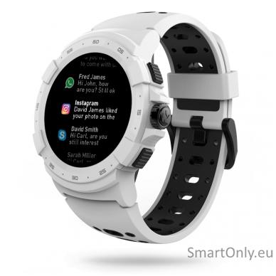 Išmanusis sportinis GPS laikrodis Mykronoz ZeSport2 (Baltas/Juodas) 2