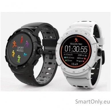 Išmanusis sportinis GPS laikrodis Mykronoz ZeSport2 (Baltas/Juodas) 4