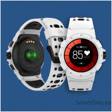 Išmanusis sportinis GPS laikrodis Mykronoz ZeSport 2 (Baltas/Juodas) 3