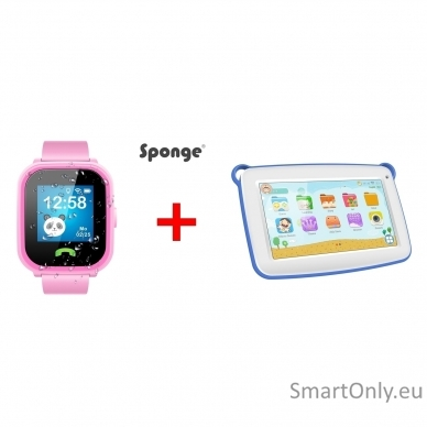 Išmanusis laikrodis Sponge See 2 + Planšetinis kompiuteris Sponge Smart 2
