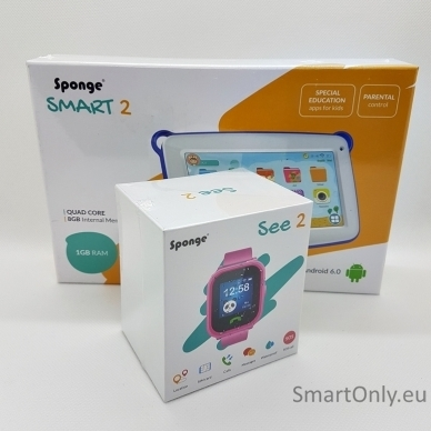 Išmanusis laikrodis Sponge See 2 + Planšetinis kompiuteris Sponge Smart 2 2