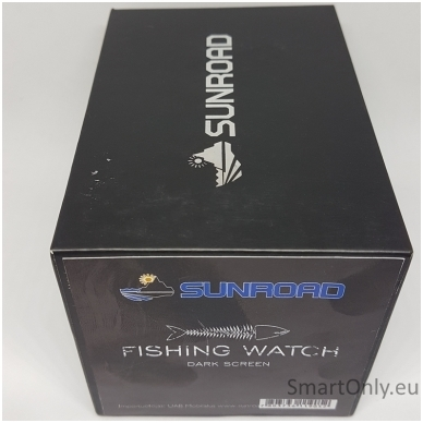 Išmanusis laikrodis Sunroad Fishing (Juoda) 9