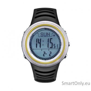Išmanusis laikrodis Sunroad Outdoor (Juoda/balta)