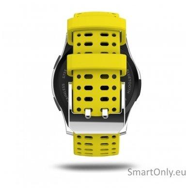 Išmanusis laikrodis - telefonas DT NO.1 GS8 (Geltona) 3