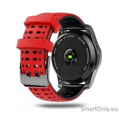 Išmanusis laikrodis - telefonas DT NO.1 GS8 (Raudona) 2